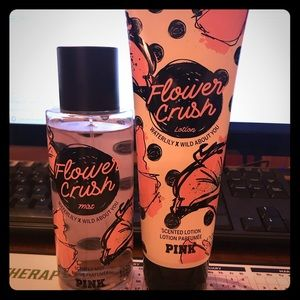 PINK Victoria's Secret lotion & spray set